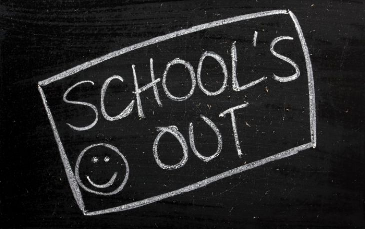 School closes on Friday 19th July at 3:25pm