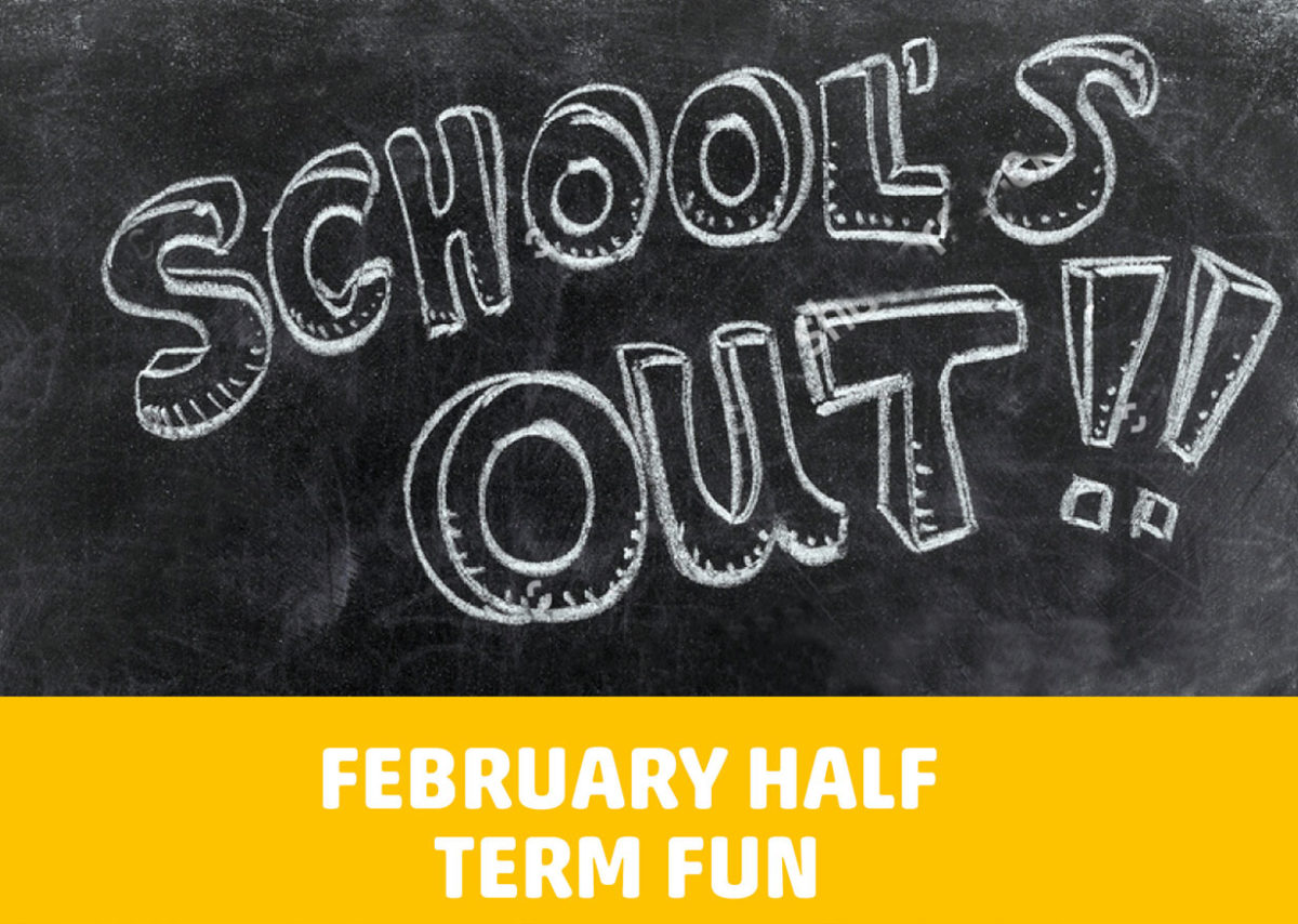 Half Term: Monday 17th – Friday 21st February